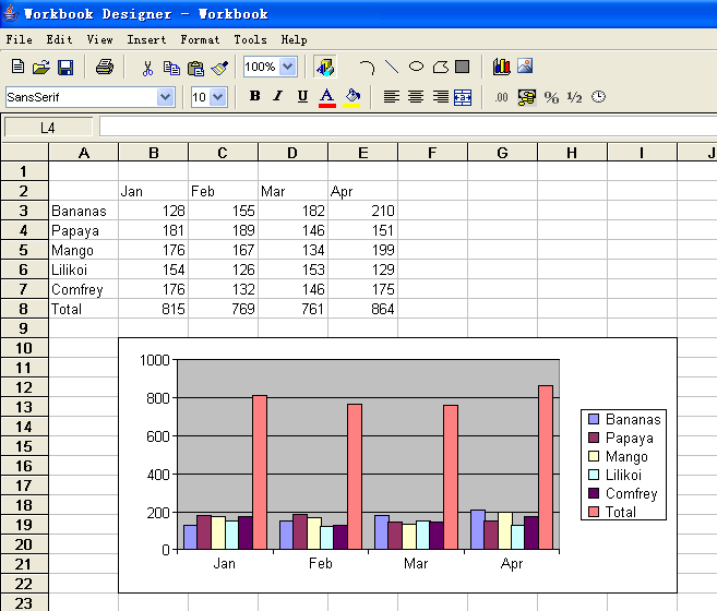 Editview Excel Spreadsheet With Jxcell In Java. Worksheet. Excel Worksheets At Clickcart.co